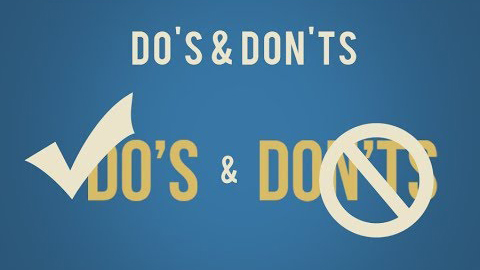 Do's & Don'ts Video