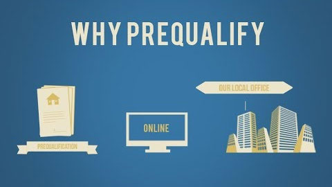 Why Prequalify