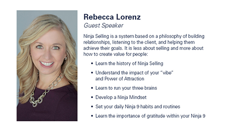 Surviving and Thriving with Guest Speaker Rebecca Lorenz